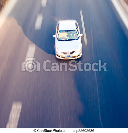 Cars on the road - csp22602636