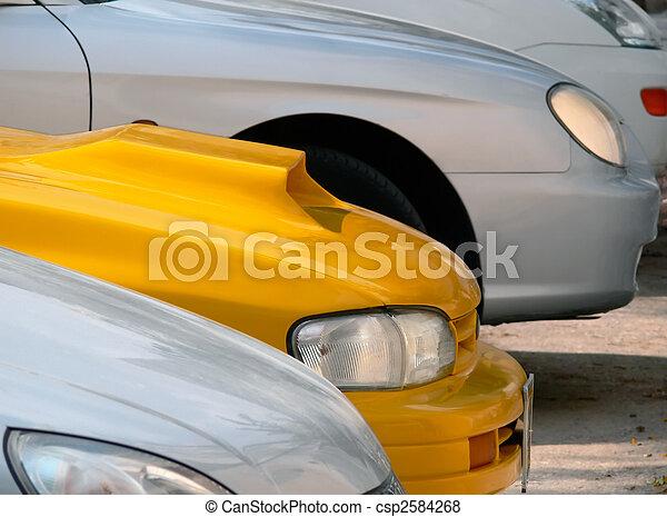 Cars parking lot. - csp2584268