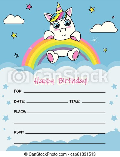 cartão aniversário - csp61331513