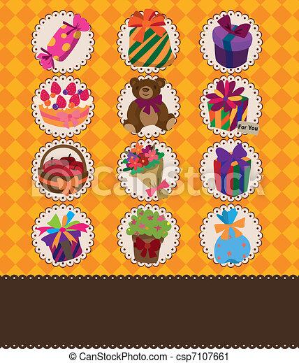 cartão aniversário - csp7107661