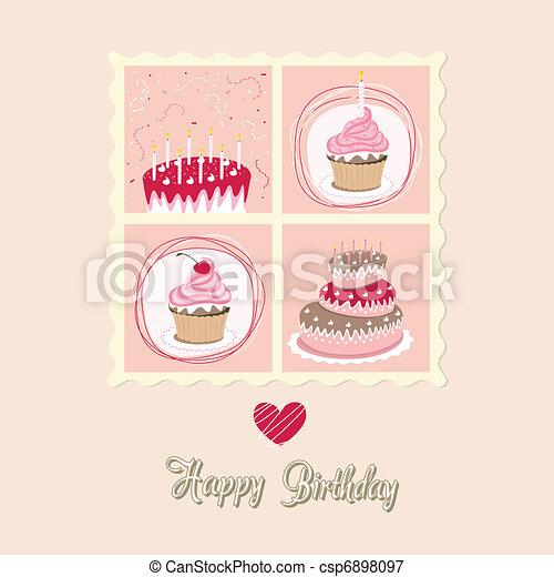 cartão aniversário - csp6898097