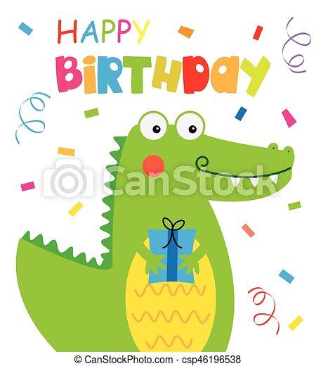 cartão aniversário - csp46196538