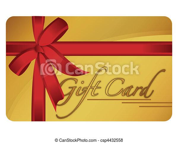 cartão presente - csp4432558