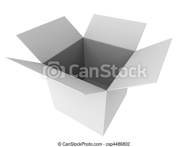 3d cartón - csp4486802