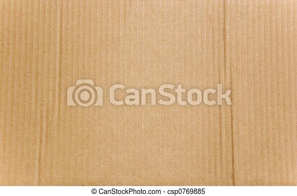 Cartón - csp0769885
