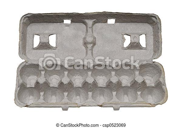 Cartón de huevo de cartón - csp0523069