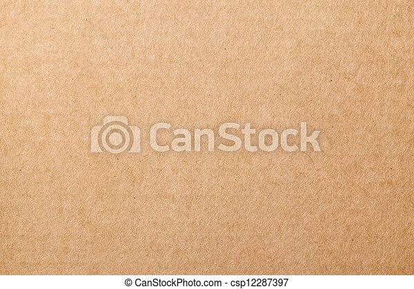 Textura de cartón - csp12287397