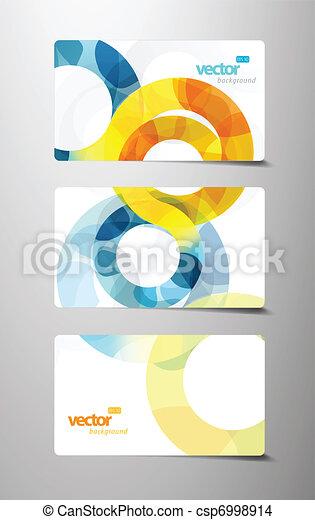 cartões, circles., jogo, presente - csp6998914