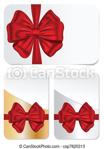 cartões, jogo, arcos, presente - csp7620313