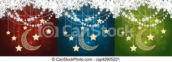 cartões, jogo, natal - csp42905221