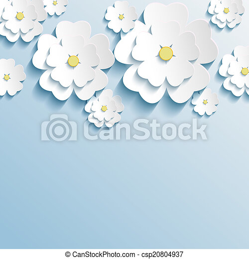 Fiori 3d Carta.Carta Da Parati Sakura Trendy Elegante Fiori 3d Bello Carta