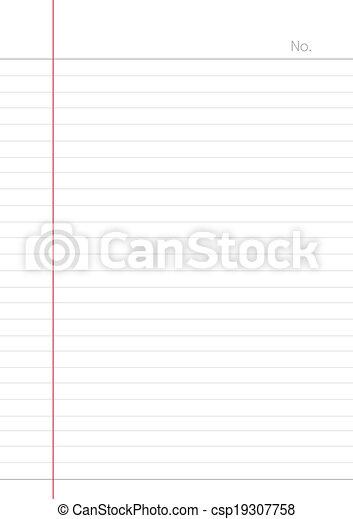 carta, fondo, quaderno - csp19307758