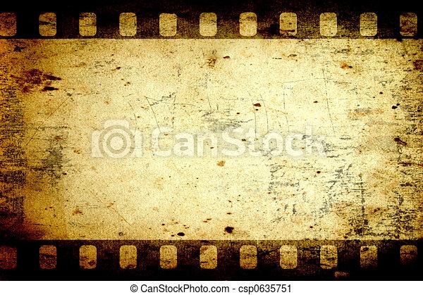 carta, invecchiato - csp0635751