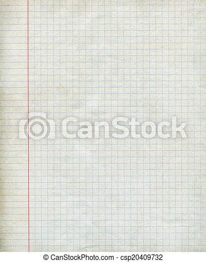 carta, matematica, fondo - csp20409732