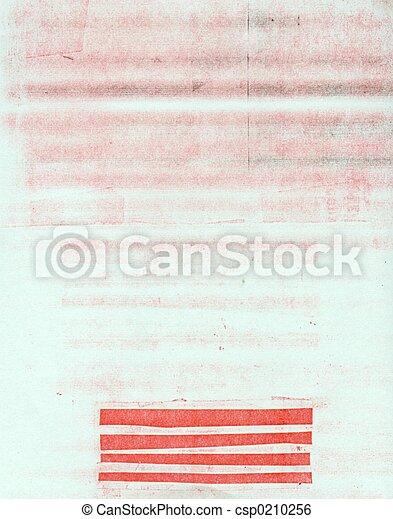 carta, sporcizia - csp0210256