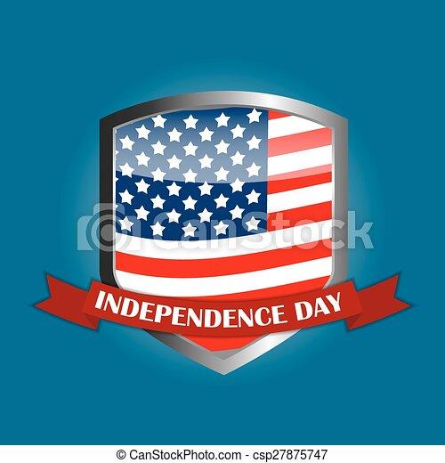 cartaz, dia, independência - csp27875747