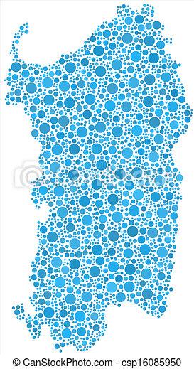 Carte Italie Et Sardaigne.Carte Italie Isole Sardaigne Bleu Carte Italie