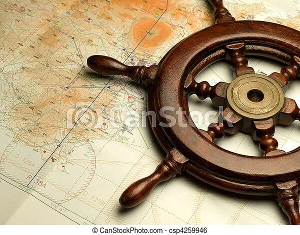 carte, navigation - csp4259946
