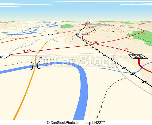 carte, perspective - csp1142277