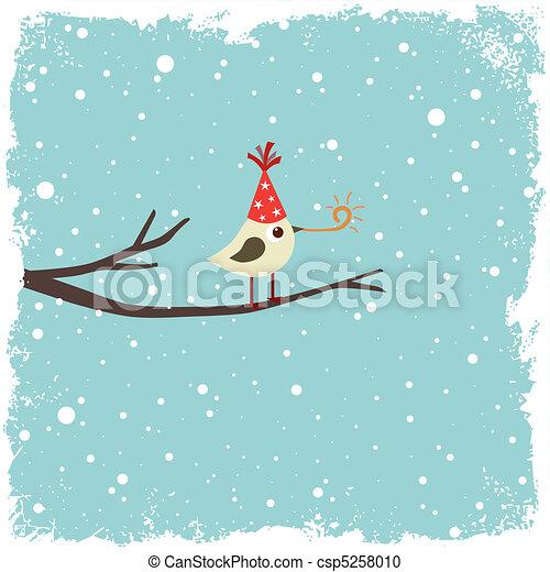carte postale, oiseau - csp5258010