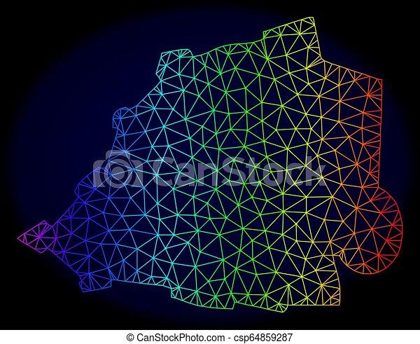carte, réseau, spectre, maille, polygonal, vecteur, vatican - csp64859287