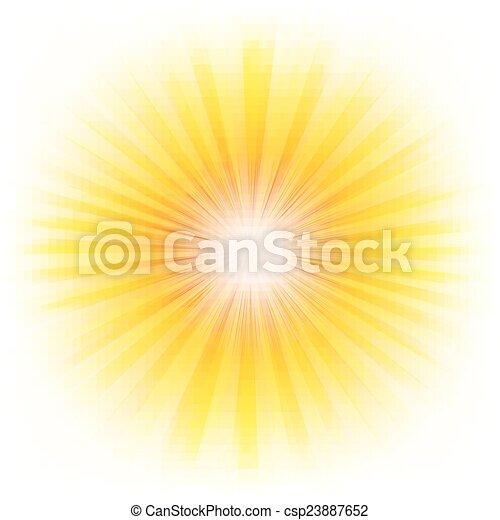 Un afiche con vigas - csp23887652