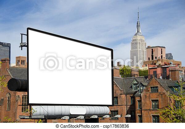 Billboard - csp17863836
