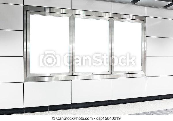 En blanco - csp15840219