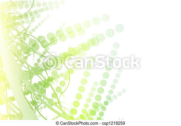 Trasfondo de cartelera abstracto con espacio de copiado - csp1218259