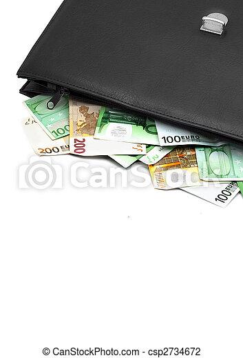 cartella denaro - csp2734672