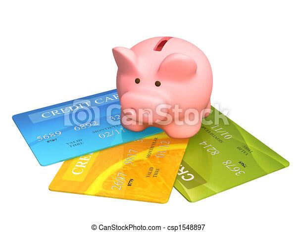 cartes, crédit - csp1548897