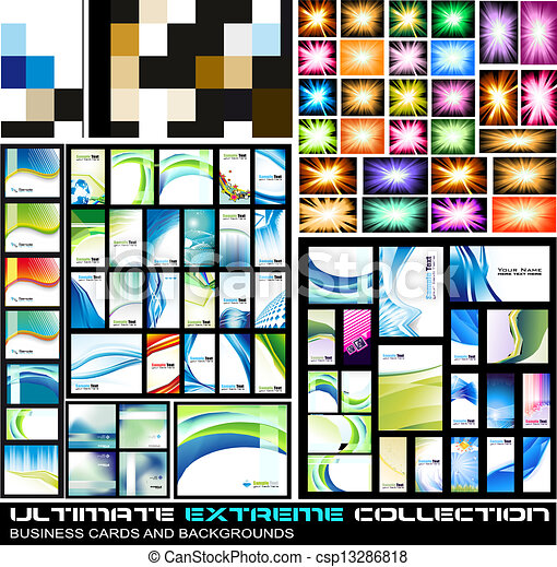 cartes, extrême, collection, business, ultimate - csp13286818