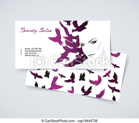 cartes, femme - csp19444736