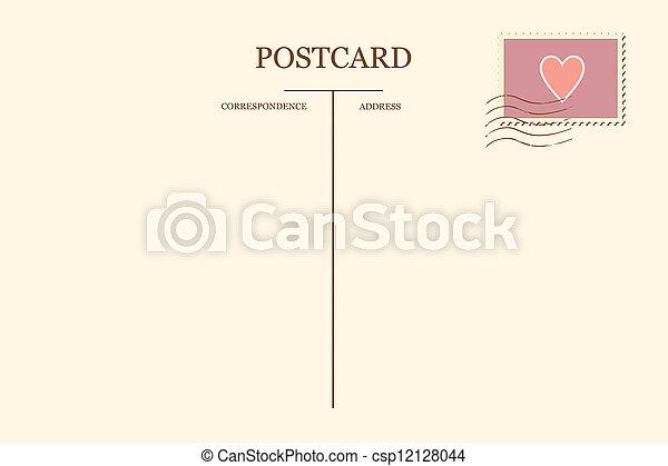 cartolina, cuore, tuo - csp12128044