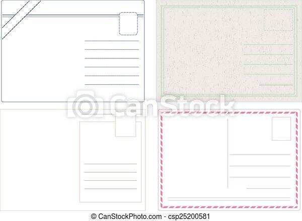 cartolina, vectors - csp25200581