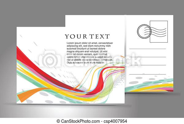 cartolina, vuoto - csp4007954