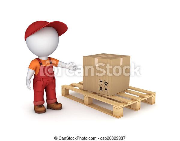 Carton box. - csp20823337