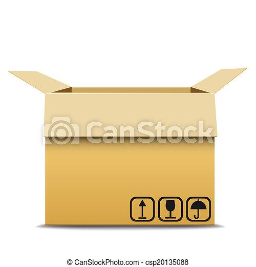 Carton box. - csp20135088