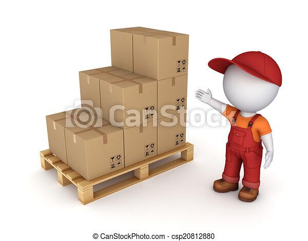 Carton box. - csp20812880