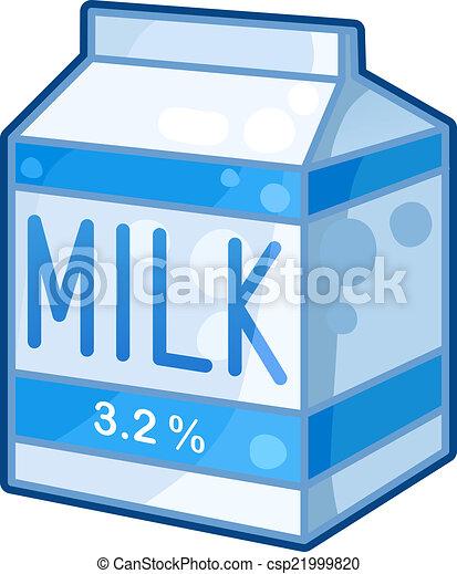 Carton of milk - csp21999820