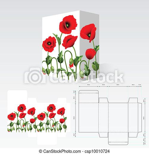Carton template - csp10010724
