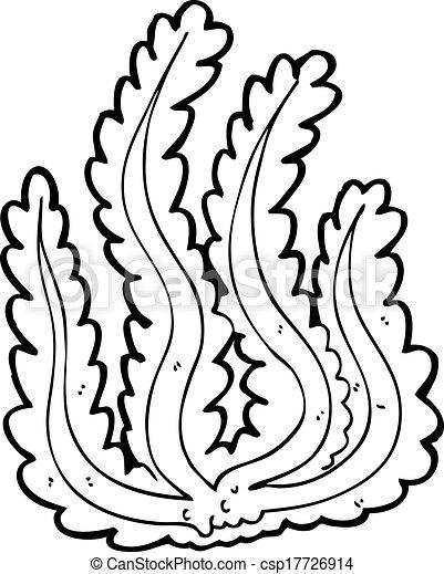 Cartone Animato Alga