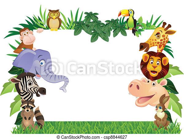 cartone animato, animale - csp8844627
