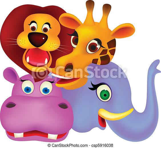 cartone animato, animale - csp5916038