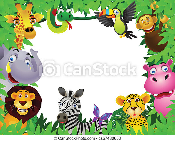 cartone animato, animale - csp7430658