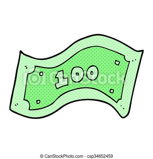 100 dollar bill clip art and stock illustrations 1 681 100 dollar rh canstockphoto com 500 Dollar Bill Clip Art $5 bill clip art