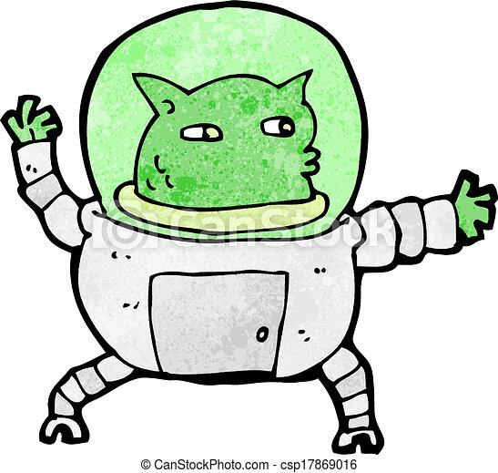cartoon alien - csp17869016