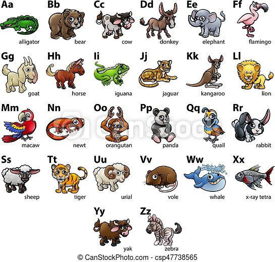 Animal Name With Letter J