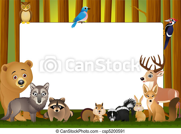 Cartoon animal - csp5200591