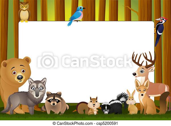Cartoon animal - csp5200591